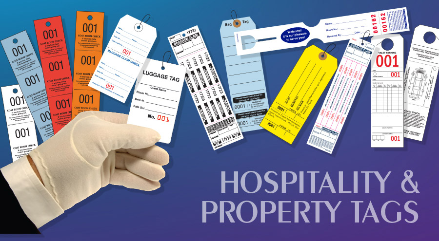 Hospitality Property Tags