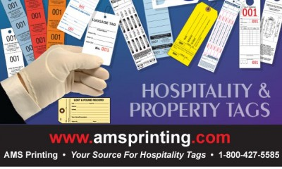 Font, Color and Design are What Make a Hospitality Tag Great!