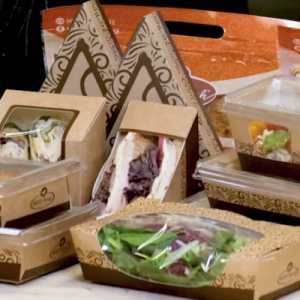 Take-Out and Prepared Foods Containers With Lids