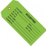 Business Production & Inspection Tags