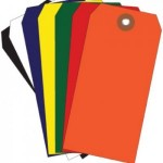 Colored Plastic Tags