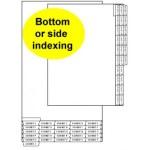 Legal Index Divider Tabs: EXHIBIT A-Z