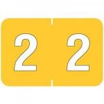 Barkley® Compatible Numerical Tabs