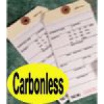 Carbonless Inventory Tags