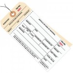 Inventory Tags 2 Part Carbonless Stub Style-Wired