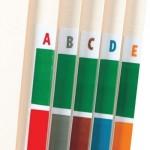 Alphabetical Code Labels