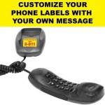 Custom Printed Emergency Phone Labels