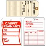 Carpet & Furniture Tags