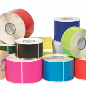 Blank Labels on a Roll
