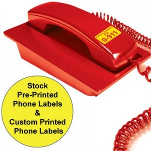 Emergency Phone Stickers