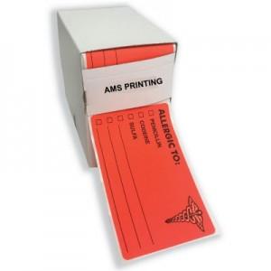 Pre-Printed File Labels