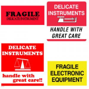 Delicate Instruments Labels