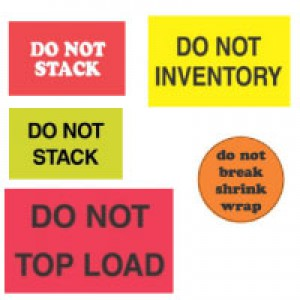 """DO NOT"" Shipping & Handling Labels"