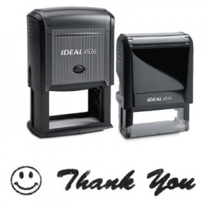 Pre-Made Message Self Inking Stamps