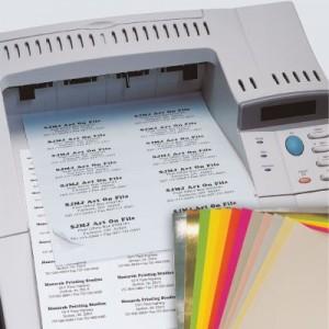 Blank Laser/Inkjet Labels
