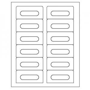 Audio Cassette Inkjet/Laser Labels