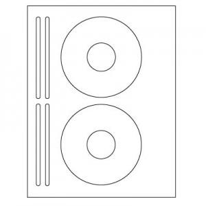 CD/DVD Inkjet/Laser Labels