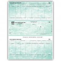 LM342, Marble Laser/Inkjet Payroll Check