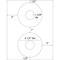"Up to 4 1/2"" Diameter"