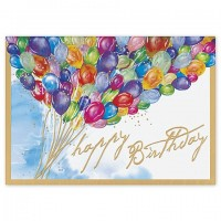 Burst of Color Happy Birthday Card