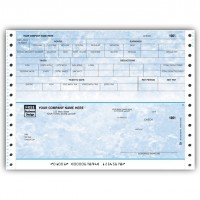 CB303, Marble Continuous Payroll Check