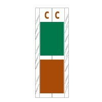 12700 Acme Visible® Alphabetical tabs
