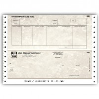 CB245, Marble Continuous Accounts Payable Check