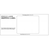 Single Inkjet/Laser Label-Blank with Instructions