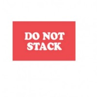 """""""DO NOT STACK"""" Label"""
