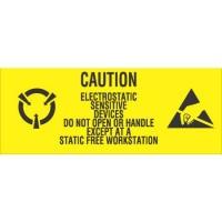 """""""CAUTION ELECTROSTATIC SENSITIVE"""" Labels"""
