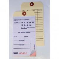 3 Part Carbonless Inventory Tags - Plain