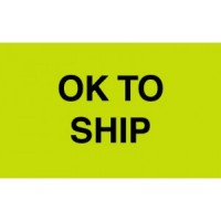 """OK TO SHIP"""