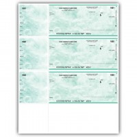 LW001, Marble Laser/Inkjet Wallet Size Check