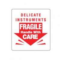 """""""Delicate Instruments Fragile Handle With."""" Label"""