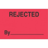 """""""REJECTED BY"""""""