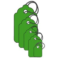 Merchandise Tags, Scalloped, with Knotted String