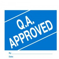 """""""Q.A. APPROVED"""""""