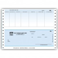 CB203C, Classic Continuous Accnts. Payable Check
