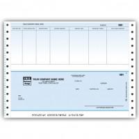 CB203C, Classic Continuous Accnts. Payable Check