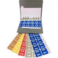 8850 GBS® Compatible Alphabetical Tabs