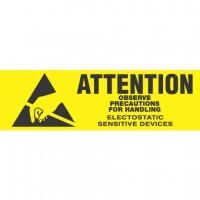 """ATTENTION OBSERVE"" Label"