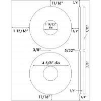 "Up to 4 5/8"" Diameter"