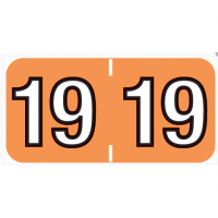 14400 Colwell® compatible Year tab labels