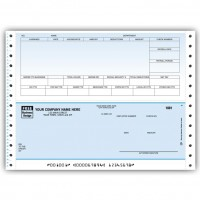 CB346C, Classic Continuous Payroll Check