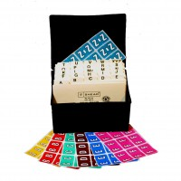 MCOK Colwell® Jewel Tone Match Compatible Alphabetical tabs