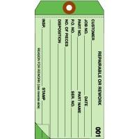 2 Part Inspection Tags, Plain