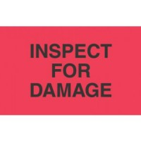 """""""INSPECT FOR DAMAGE"""""""