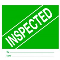 """""""INSPECTED"""""""