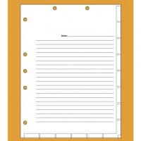 Medical Chart Divider Sheets