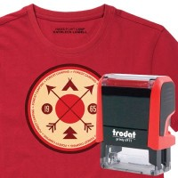 Rectangle Shaped Clothing Friendly Stamps
